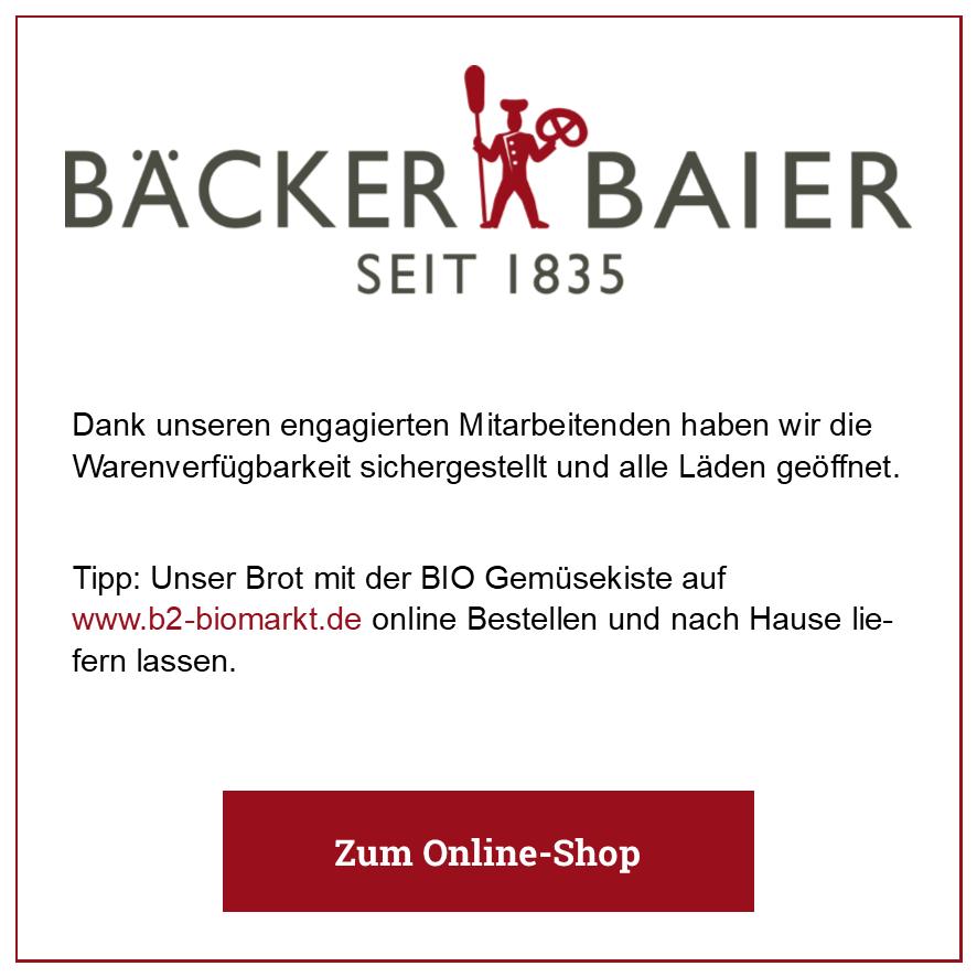 Eintrag Bäcker Baier
