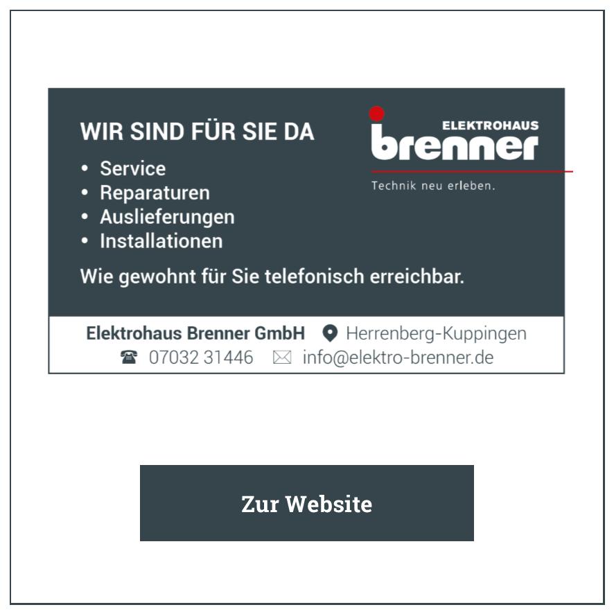 Eintrag Elektro Brenner
