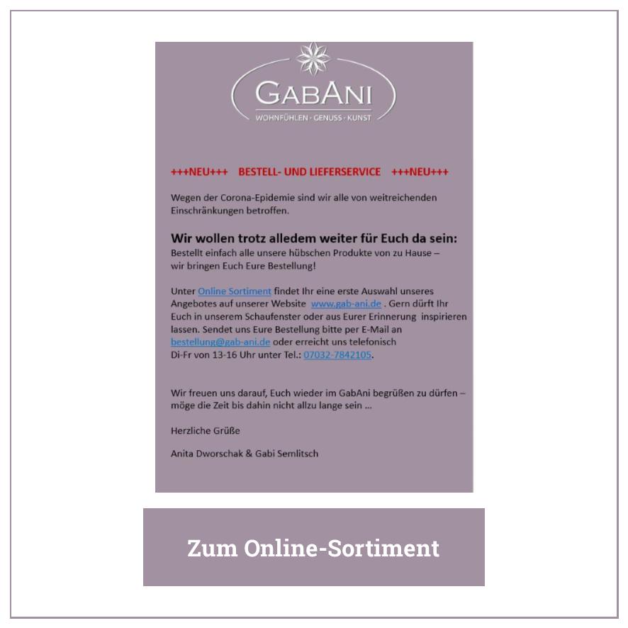 Eintrag GabAni