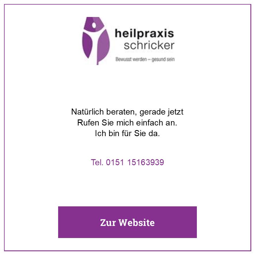 Eintrag Heilpraxis Schricker