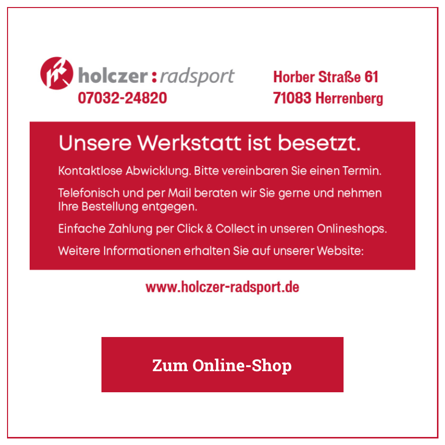 Eintrag Holczer Radsport – Herrenberg
