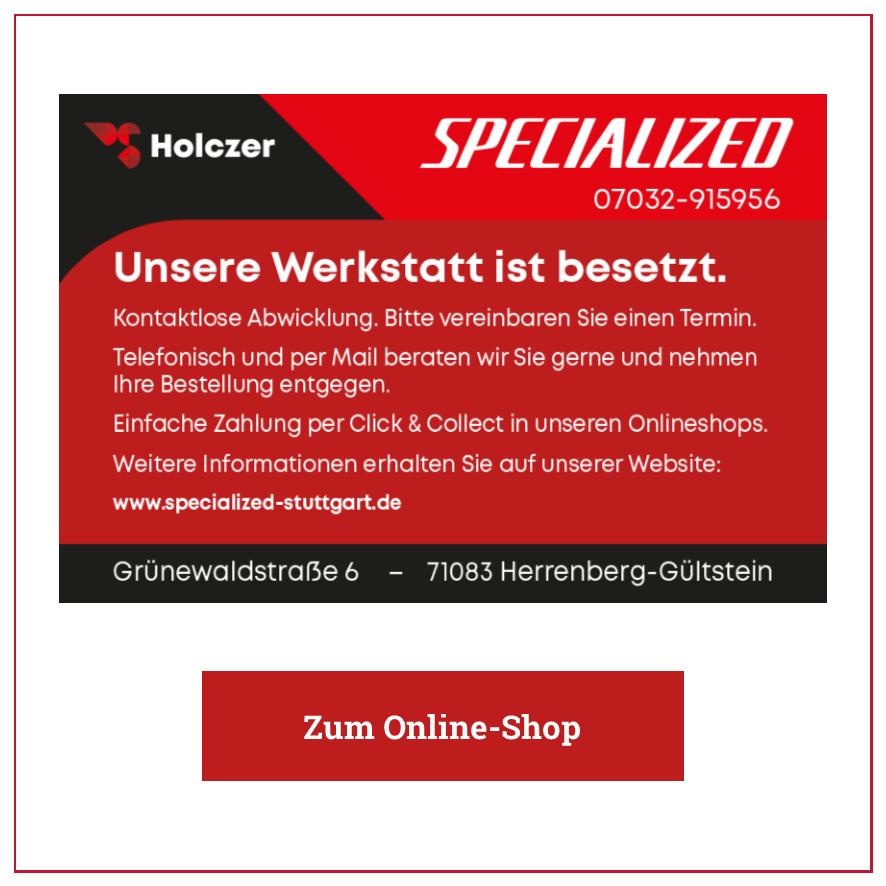 Eintrag Holczer Radsport Specialized – Gültstein
