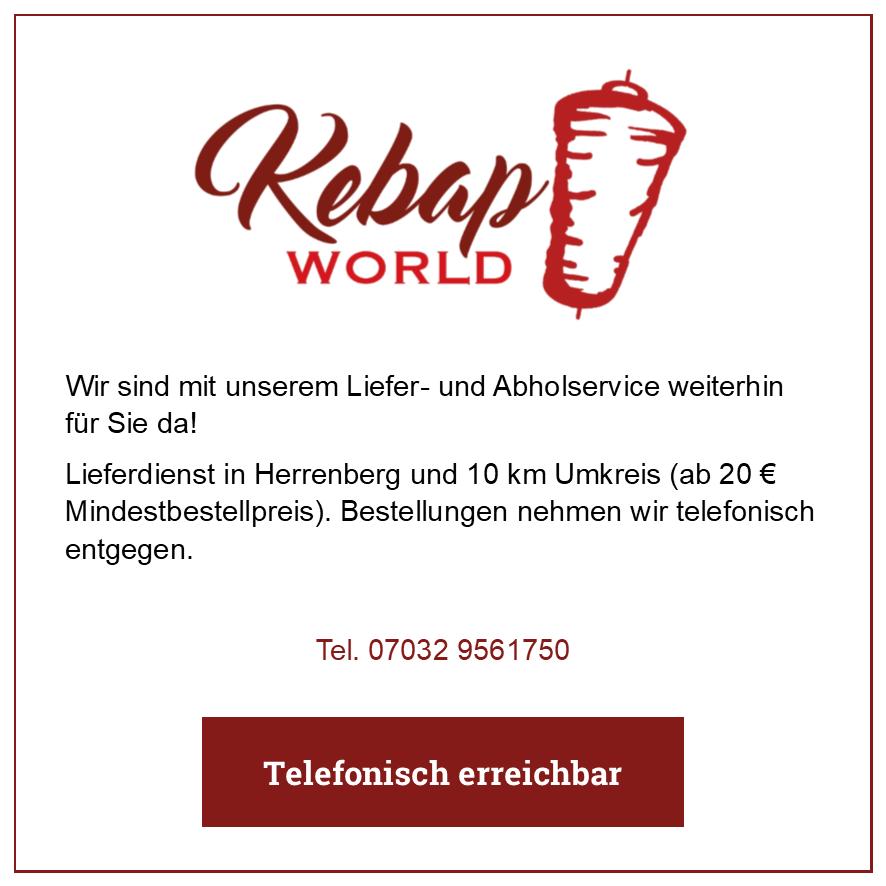 Eintrag Kebap World
