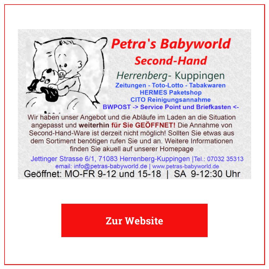 Eintrag Petras Babyworld