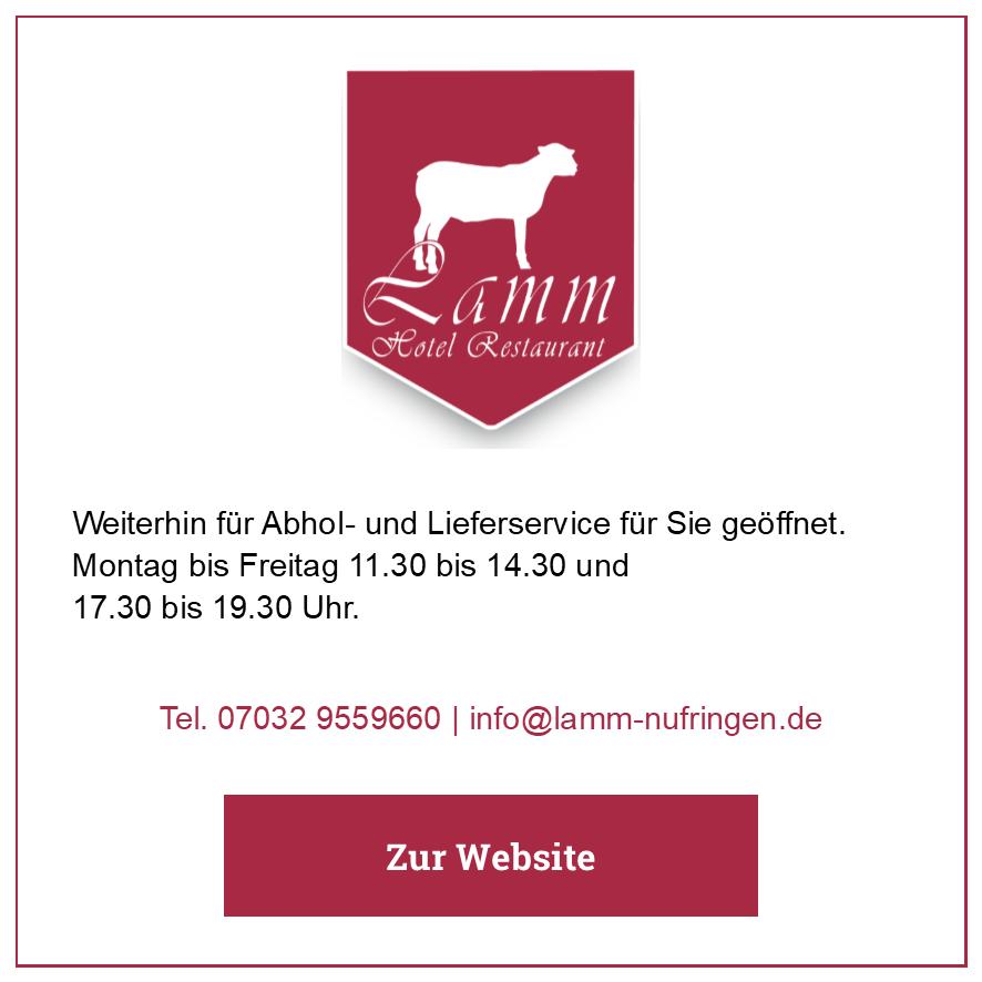 Eintrag Restaurant Lamm
