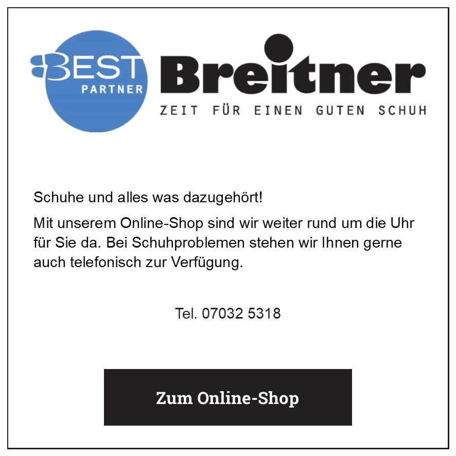 Eintrag Schuhhaus Breitner