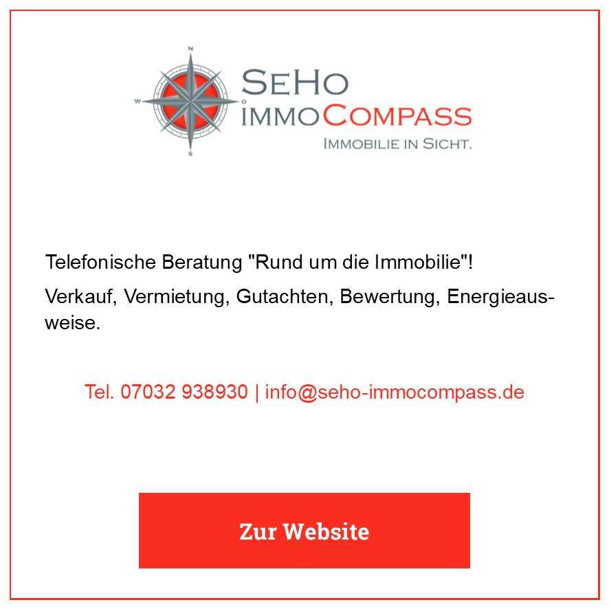 Eintrag SeHo ImmoCompass