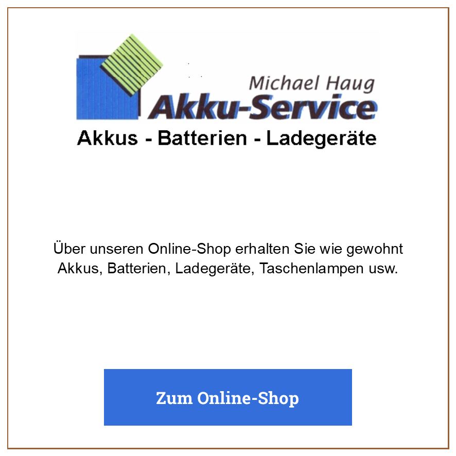 Eintrag Akku-Service Michael Haug