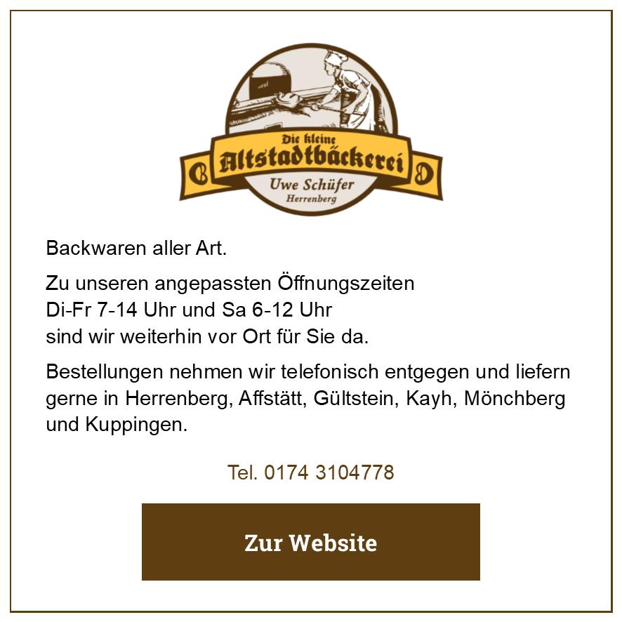 Eintrag Die kleine Altstadtbäckerei Schüfer