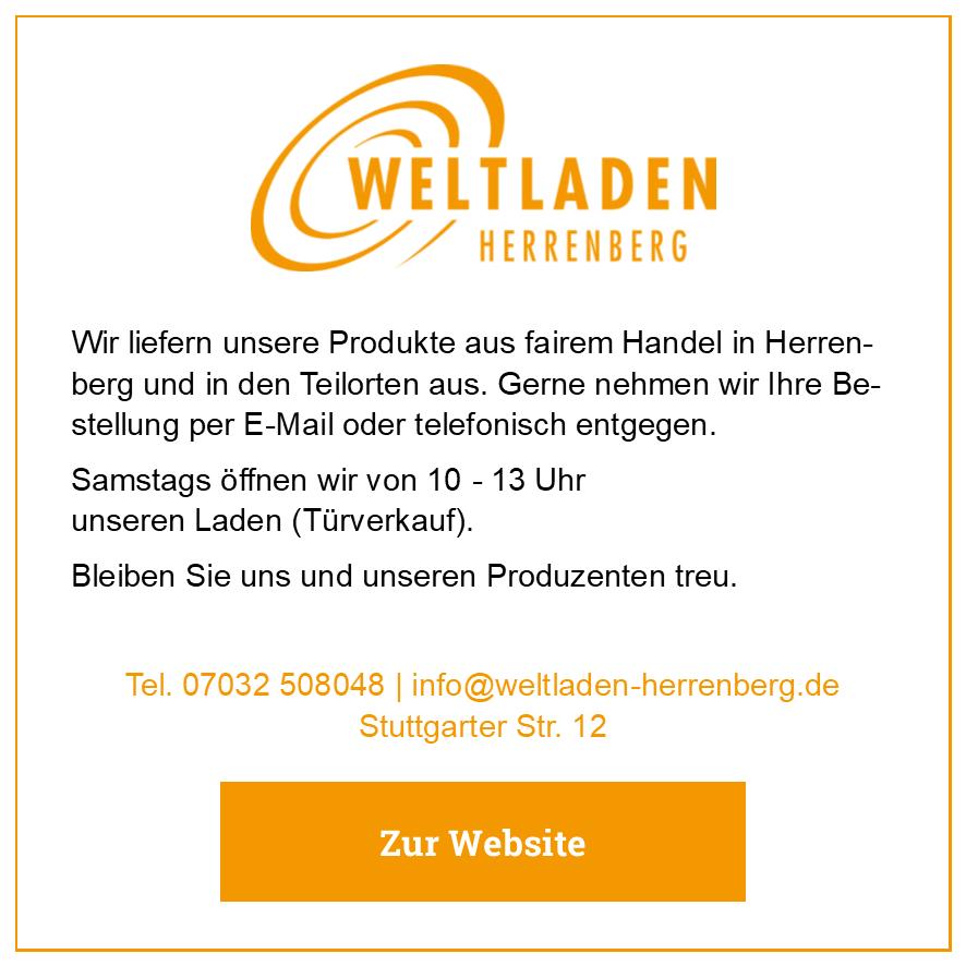 Eintrag Weltladen Herrenberg