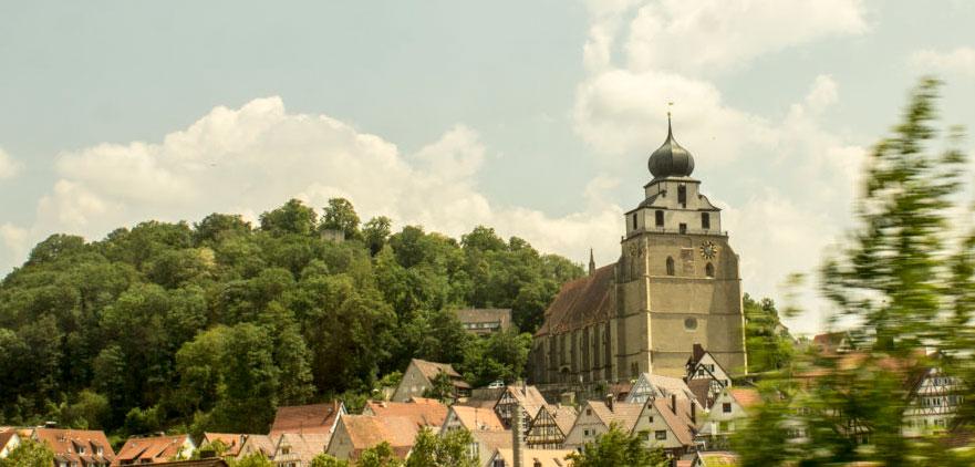 Kirche von Herrenberg