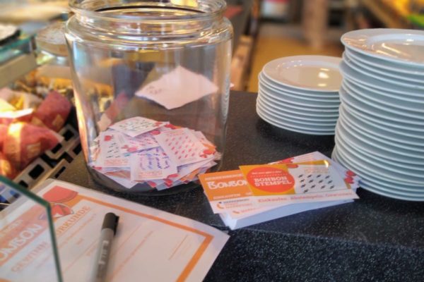 Ziehung Gewinner Baustellen-Bonuskarte im COC Haupthaus