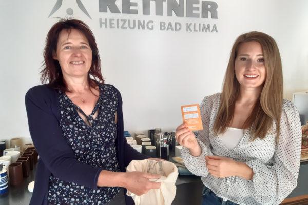 Gewinnerin der Baustellen-Bonuskarte bei Kettner GmbH