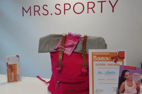 Mrs Sporty Gewinner