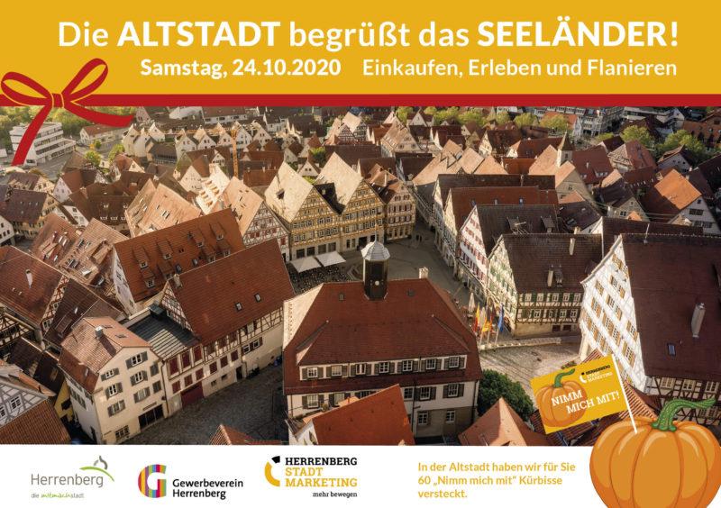 Die Altstadt begrüßt das Seeländer