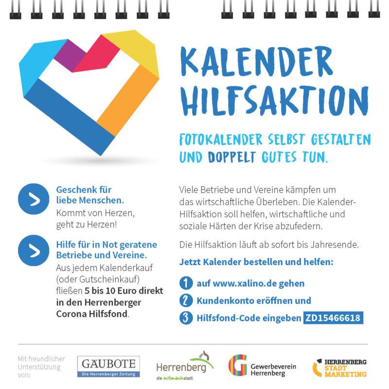 Xalino Kalender Aktion