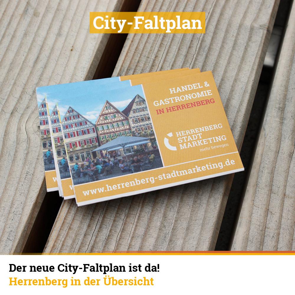 Cityfaltplan Herrenberg